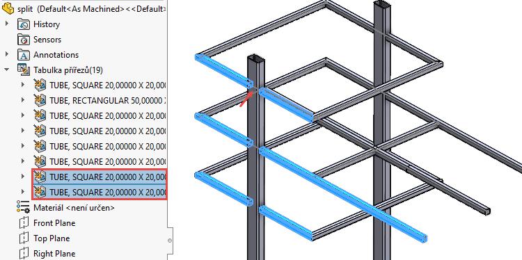 Konstrukční systém: Jak rozdělit prvky