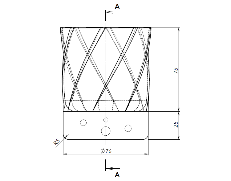 2-Mujsolidworks-sklenice-postup-tutorial-navod-ucime-se-solidworks-loft-pridani-spojenim-profilu-ohybani