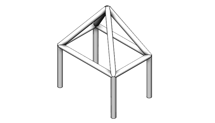 Konstrukční systém: Vytváření primárních profilů na základě bodů