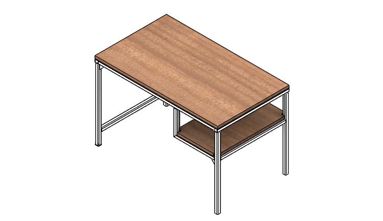 Postup modelování svařovaného stolu #10
