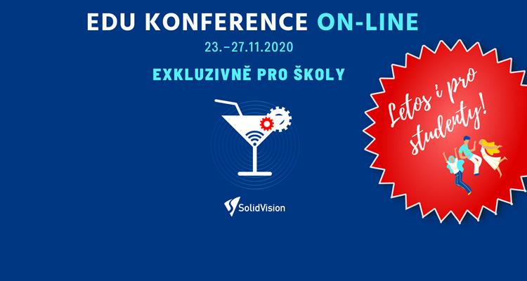 Pozvánka: On-line Konference EDU již běží
