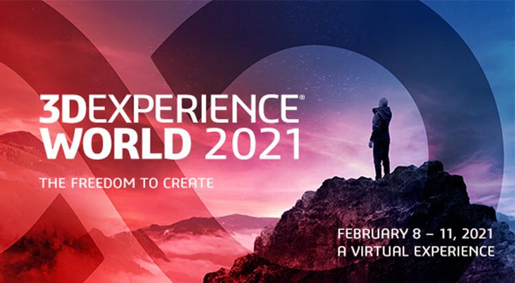 3DEXPERIENCE WORLD 2021 je pro studenty a pedagogy zdarma!