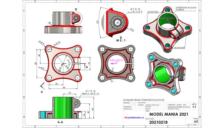 Model Mania 2021: Postup modelování #2