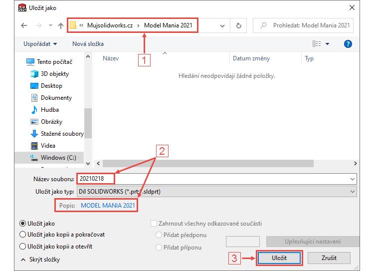 2-SOLIDWORKS-Model-Mania-2021-tutorial-postup-navod