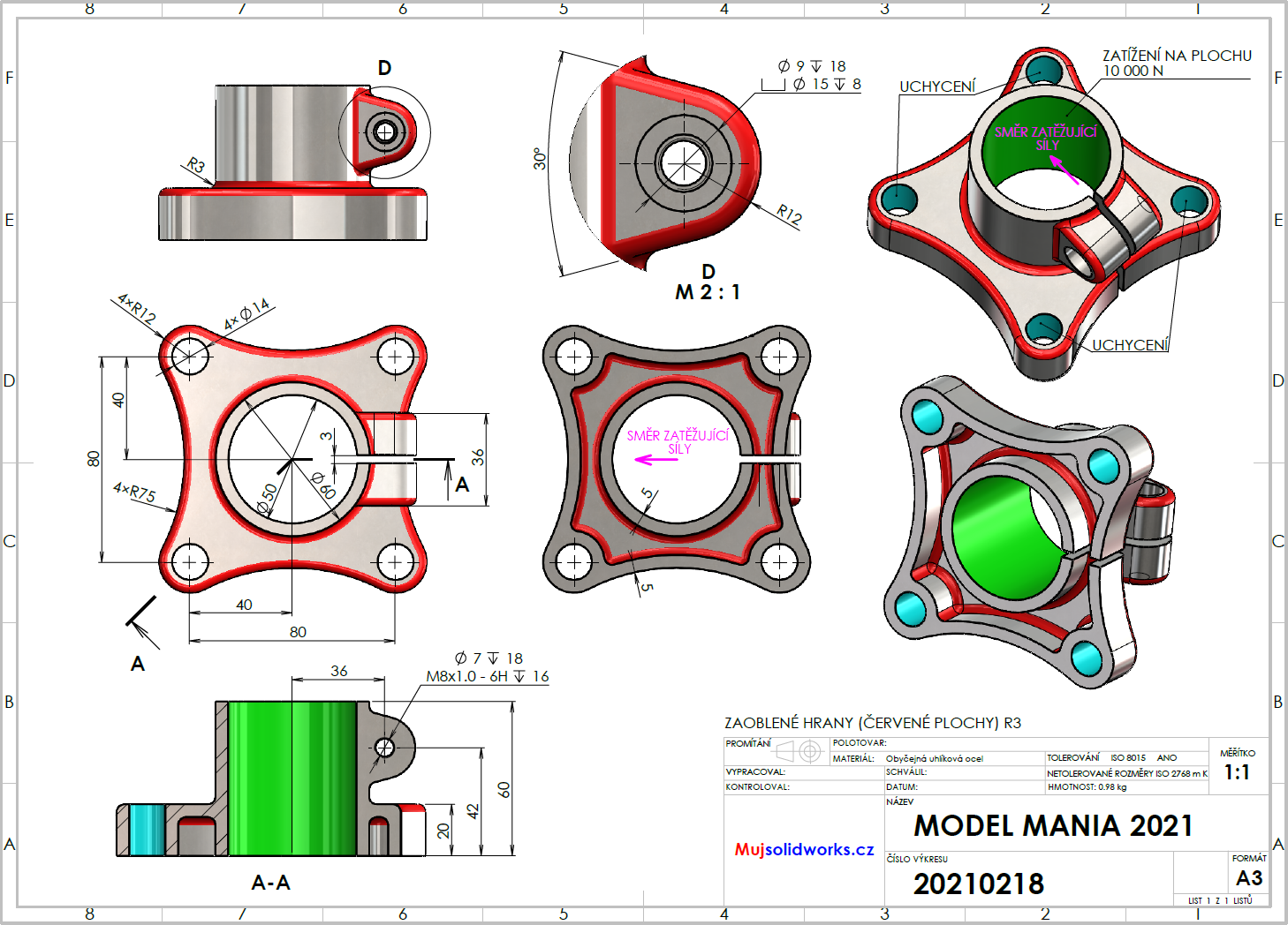 90-SOLIDWORKS-Model-Mania-2021-tutorial-postup-navod
