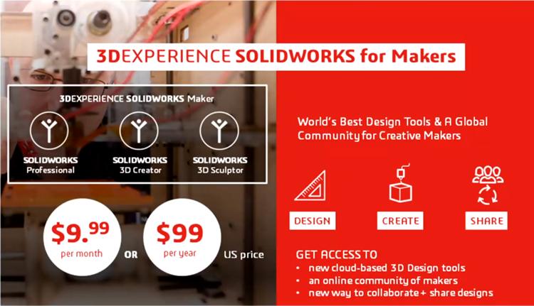 Základní informace o nabídce SOLIDWORKSu pro studenty uvedl na konferenci 3DEXPERIENCE World generální ředitel Gian Paolo Bassi. Zdroj: Youtube.com