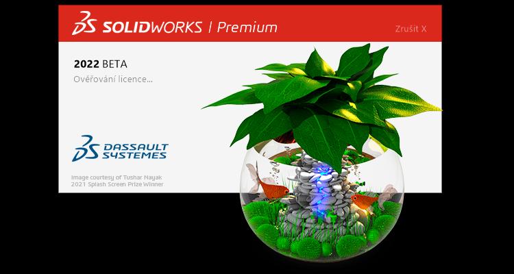 Vyzkoušejte si SOLIDWORKS 2022 v testovací verzi Beta 2