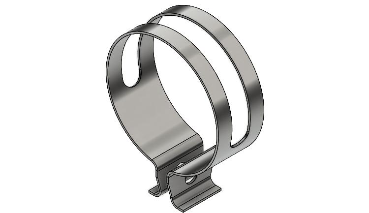 Plechové díly: Postup modelování svěrky #1